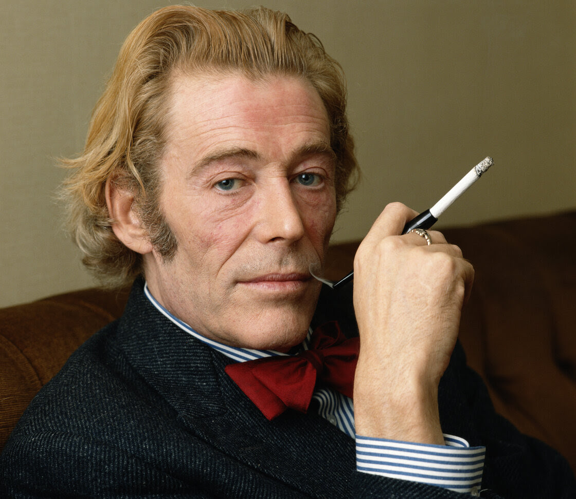 Actor Peter O'Toole performed on stage and on film in many leading roles, and began his acting career in the 1950s when he was serving in the Navy. He died on Dec. 14 at the age of 81.