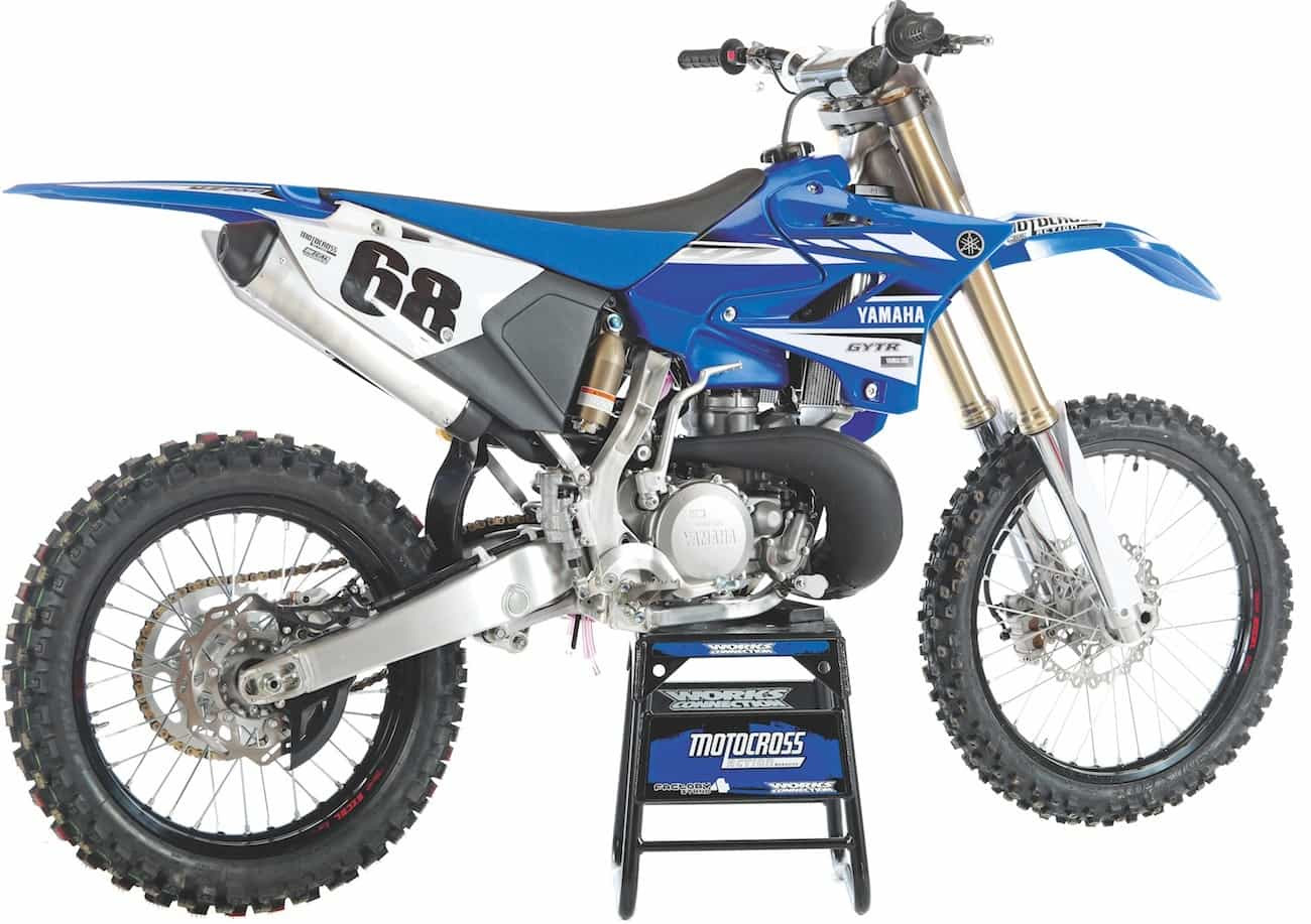 It wouldn't take much work or money to make the YZ250 competitive once again. Just copy a Pro Circuit pipe, add a modern reed cage and beef up the flywheel weight to give it an improved, all-around spread.