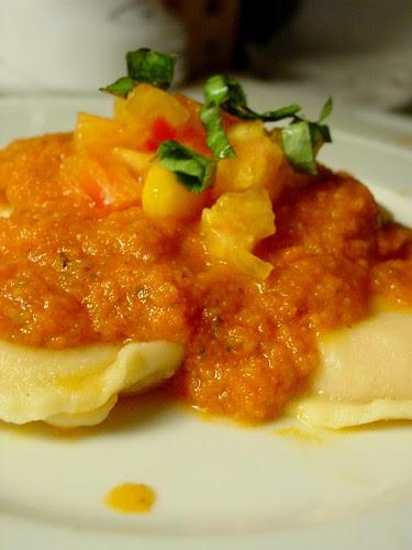 Ravioli with Heirloom Sauce 2