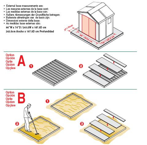 All Con: How to build a base for a rubbermaid shed