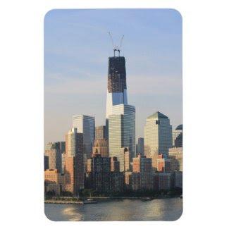 Good Morning New York Premium Flexi Magnet