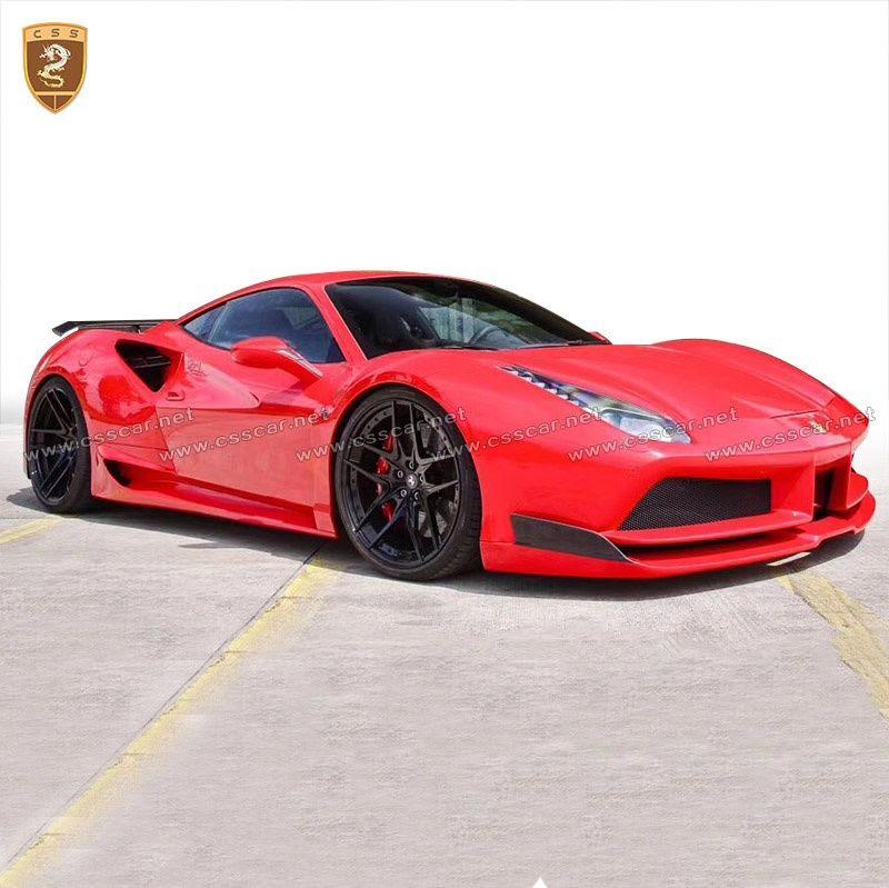 Ferrari 488 novitec wide body kits