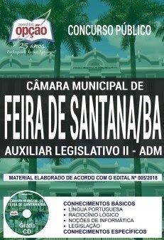 Apostila Concurso Câmara de Feira de Santana 2018   AUXILIAR LEGISLATIVO II - ADMINISTRATIVO