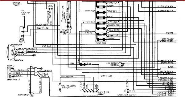 1970 corvette starter wiring