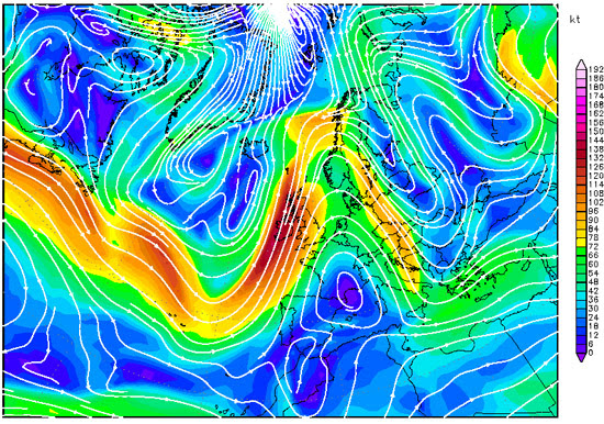 300hPa winds, 14th Arpil 2013