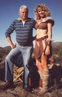 Héctor Olivera y Lana Clarkson en 1985
