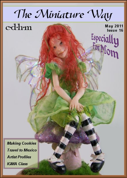 CDHM online magazine of doll and dollhouse miniature artisans