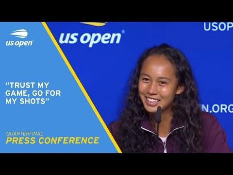 Leylah Fernandez Press Conference | 2021 US Open Quarterfinal