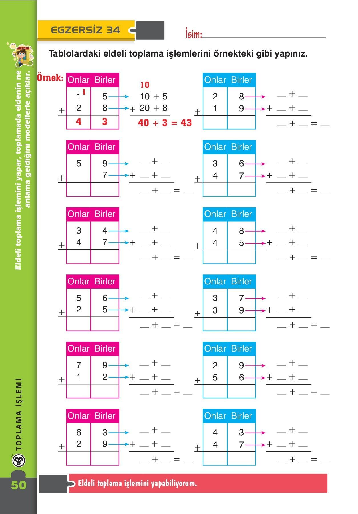 Ders Günlüğü Matematik 2sınıf Pages 51 100 Text Version Fliphtml5