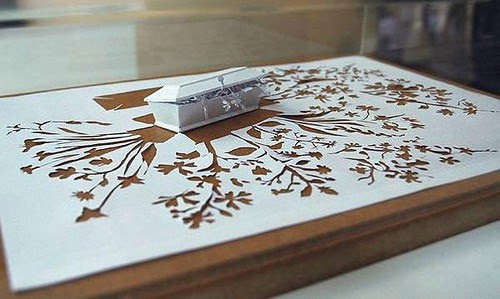 papercut treasure chest