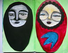 The Sketchbook Project 2011- nesting dolls
