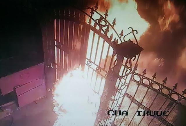 Hình ảnh Hà Nội: Nữ quái phóng hỏa đốt nhà tổ trưởng tổ dân phố giữa đêm số 1