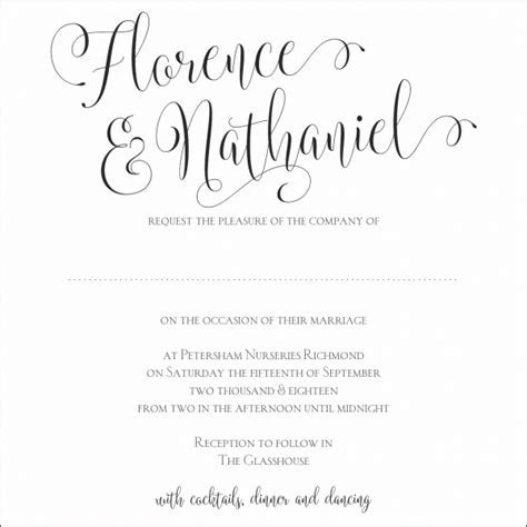 Wording Your Perfect Wedding Invitation   Hummingbird Card