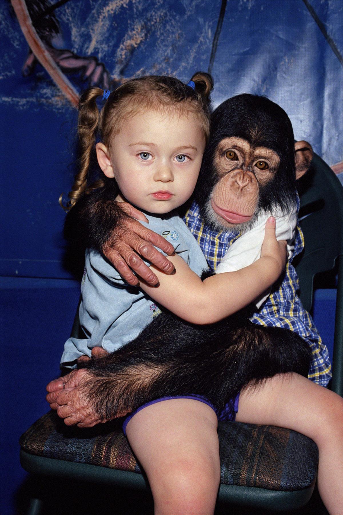 O Mundo de Amelia - A menina que cresceu com os animais e os considera seus irmãos 01