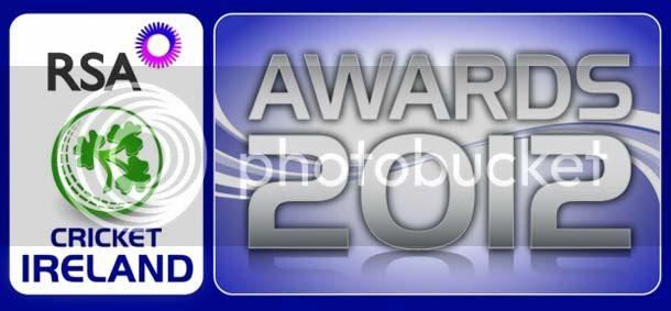 RSA Cricket Ireland Awards on 16th November 2012
