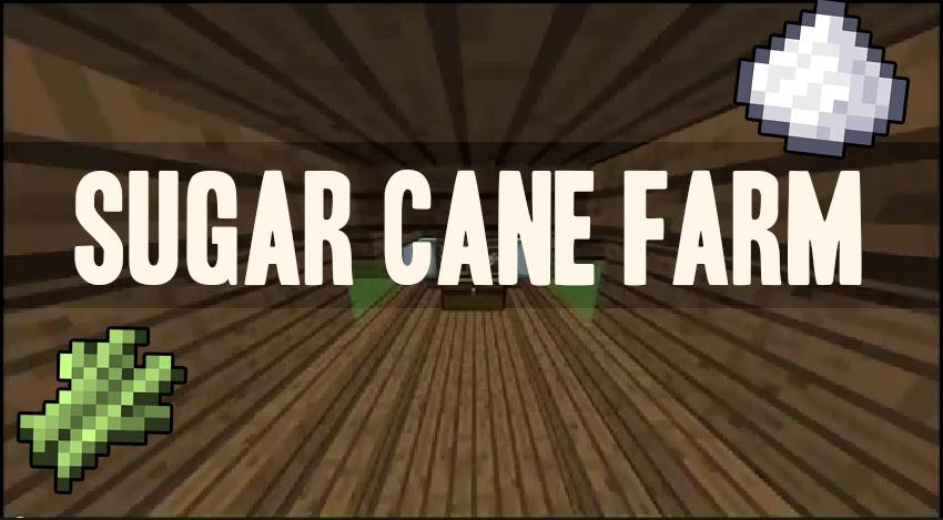 How To Make a Automatic Sugar Cane Farm - Tutorial 1.8 ...