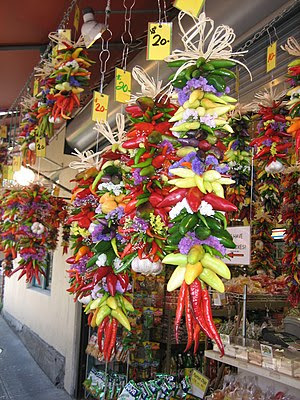 Decorative :en:chili peppers for sale at :en:S...