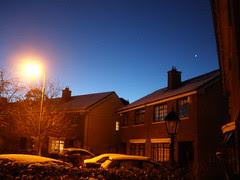 Christmas Eve morning & bright star