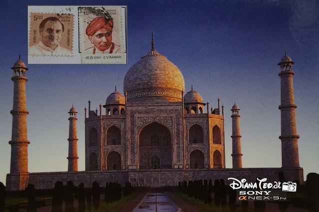 Postcard 08 - India