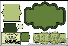 Creative Tags stans no. 4 / Creative Tags die no. 4