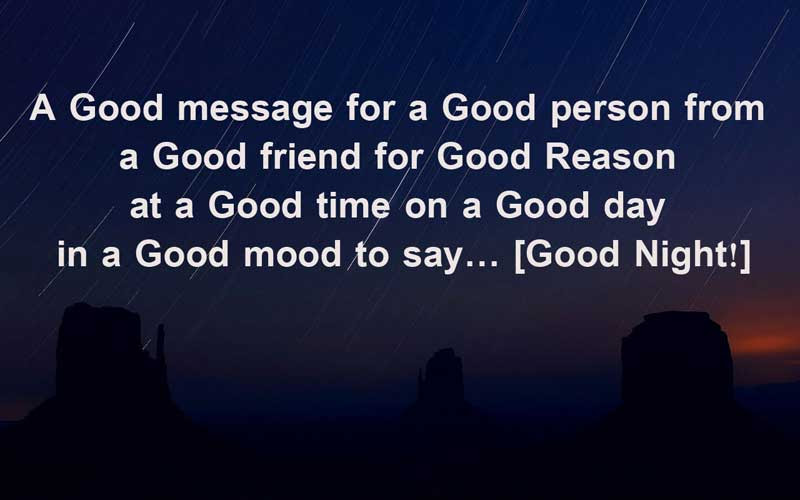 Good Night Messages For Friends Wishes Greetings Wishesmsg