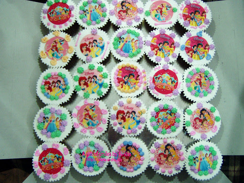 Cupcakes Disney Princess