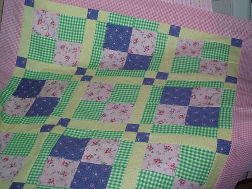 doll quilt challenge/ June