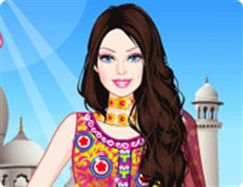 Barbie Indian Princess Dress Up   Girl Games