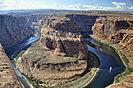 The Colorado River at Horseshoe Bend, Arizona
