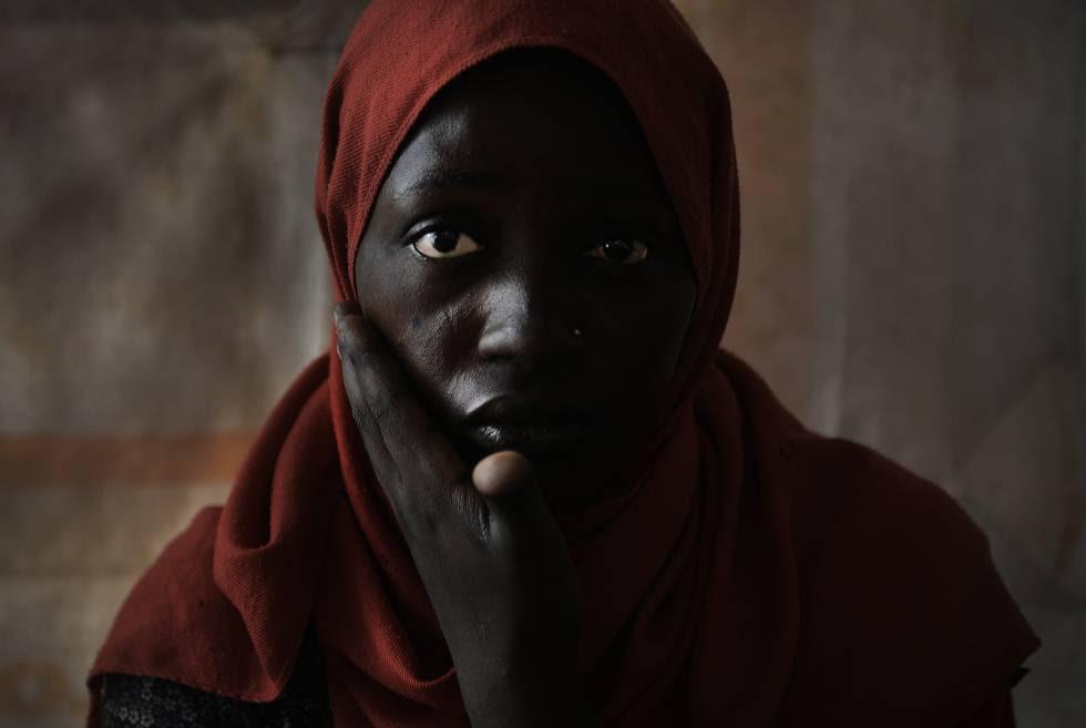 Marian, nigeriana de 23 años, fue esclava sexual en Trípoli durante 7 meses.