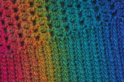 Stitch and Yarn Detail