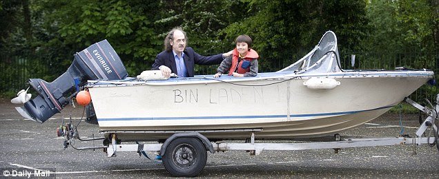 When his young sons wanted to give the family boat a 'silly name', Laurence Godfrey, from Herts, was happy to let children be children