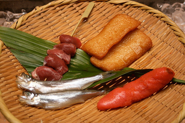 Assorted items - nice mentaiko