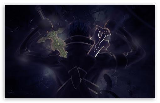 Sword Art Online Kirito Uhd Desktop Wallpaper For 4k Ultra