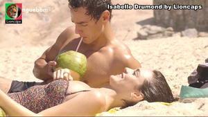 Isabelle Drumond sensual em vários trabalhos