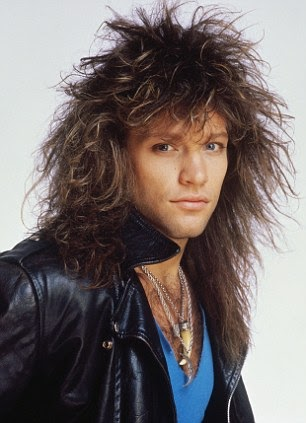 Clean-cut rock star Jon Bon Jovi as he's never been seen before ...