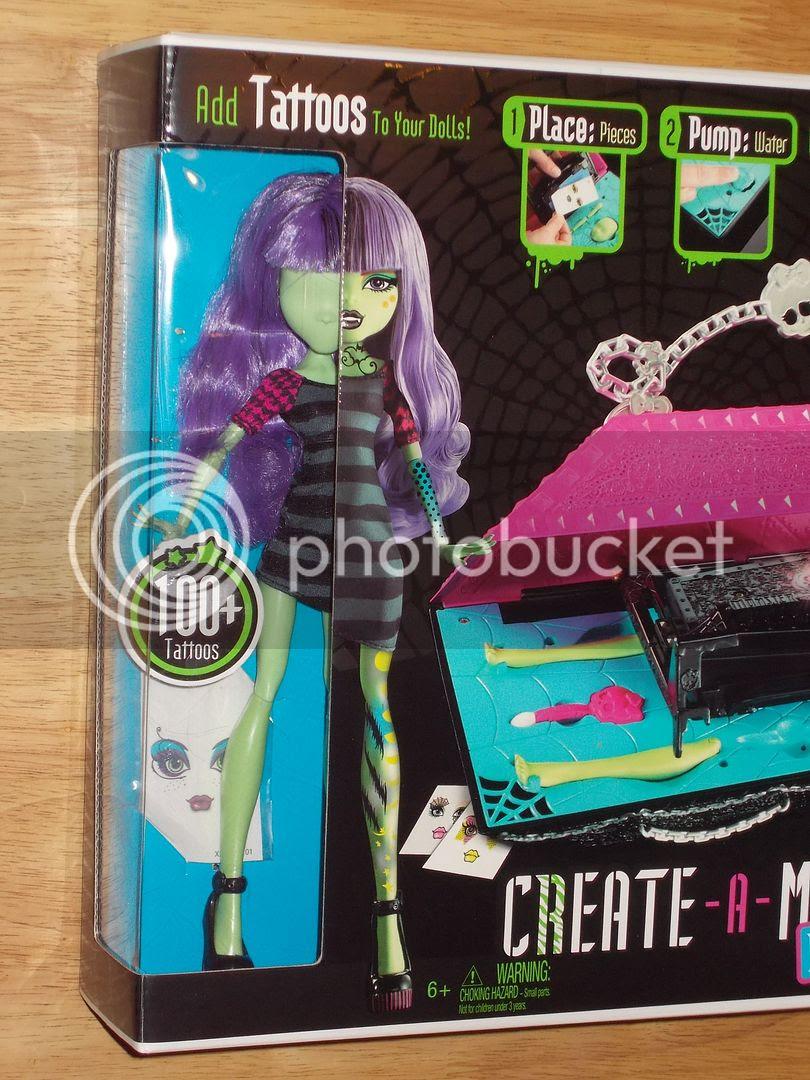 Nib Mattel Monster High Create A Monster Design Lab W Complete Doll