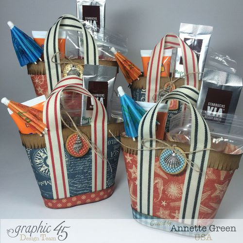 By-The-Sea-Beach-Totes-фото-главная-Graphic 45-Annette-зеленый