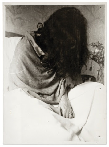Frida in the New York Hospital by Nickolas Muray, 1946.