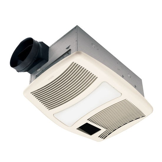 Nutone 70 Cfm Ceiling Exhaust Bath Fan W Night Light And: BATHROOM FAN W LIGHT
