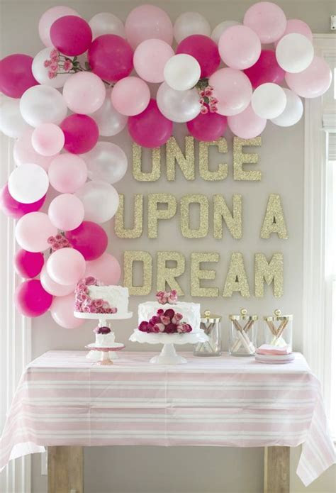 30 Cute And Pretty Princess Party Décor Ideas   Shelterness