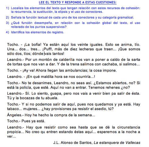 coherencia y cohesión ejercicios ejemplos resueltos pdf