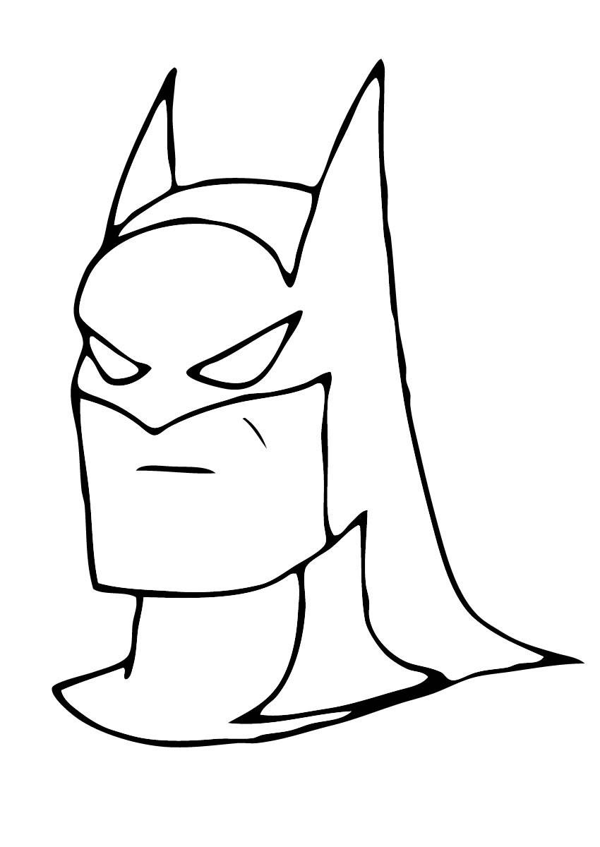 Unico Desenhos Para Colorir E Imprimir Batman Melhores Casas De