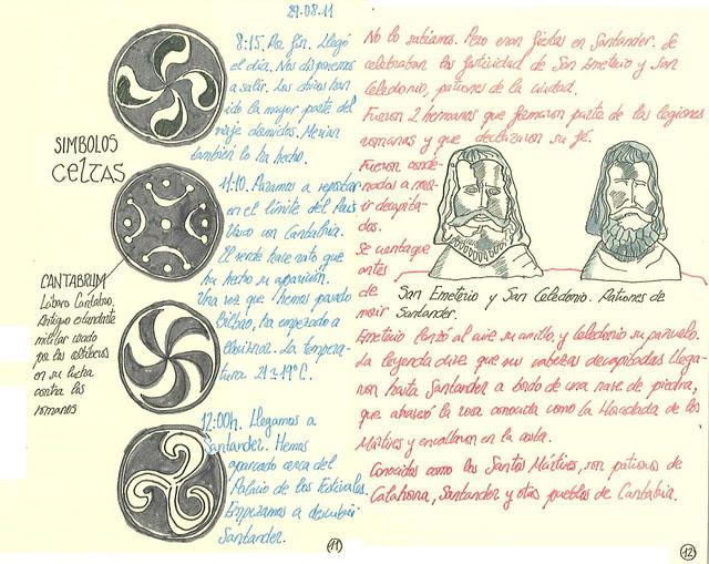 Símbolos Celtas- San Emeterio y San Celedon