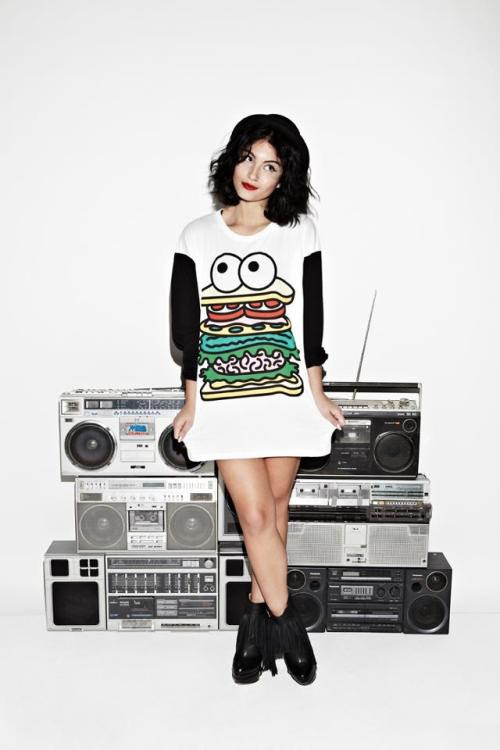 Singer/DJ Yasmin definitely looks hot to trot in our Sandwich Guy T-shirt. All agreed?