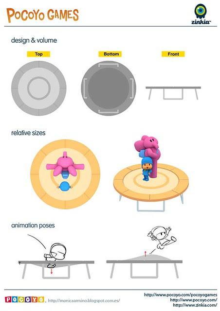 Pocoyo Games 2012 elastic bed