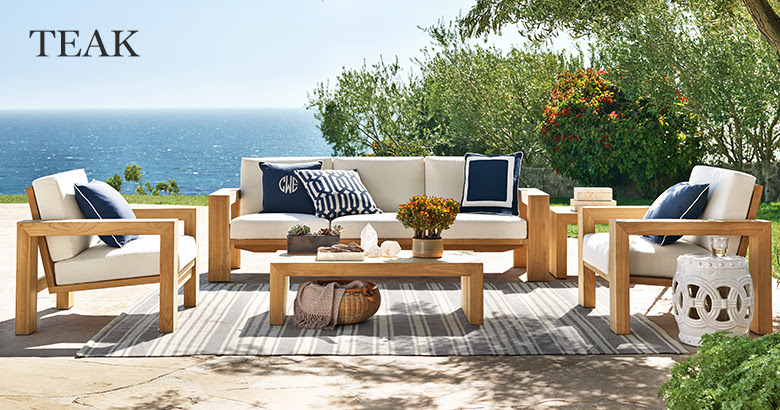 TEAK OUTDOOR FURNITURE TO ACCENTUATE YOUR DECK OR GARDEN ...