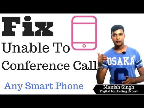 Fix Unable To Conference call Issue Oppo, Vivo, Mi, Redmi Note any other Phone