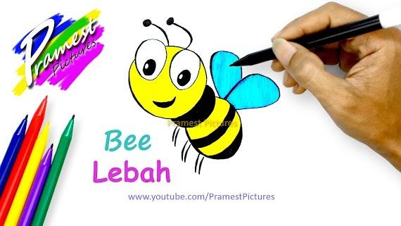 [Top rating] Gambar Sketsa Lebah