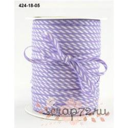 Лента от May Arts, цвет сиреневый, 3мм, 90см